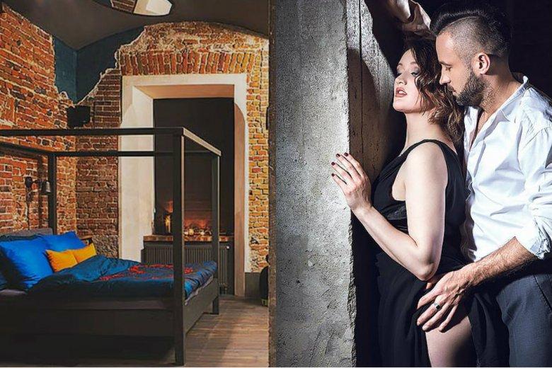 Apartament pozwala na spełnienie erotycznych fantazji