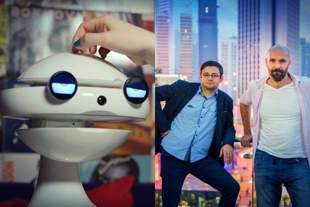 EMYS - społeczny robot do nauki języków obcych