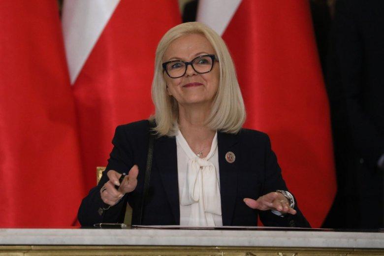 Bożena Borys-Szopa chwali się wyjątkowo niskim bezrobociem.
