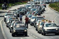 Taksówkarze z Warszawy chcą zablokować ulice stolicy