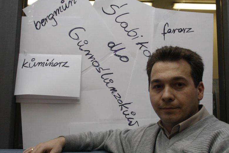 Rafał Adamus, prezes Pro Loquela Silesiana Towarzystwa Kultywowania i Promowania Śląskiej Mowy