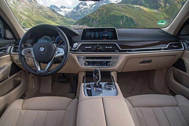 Pełen luksus i mnóstwo elektroniki - BMW 750 Li