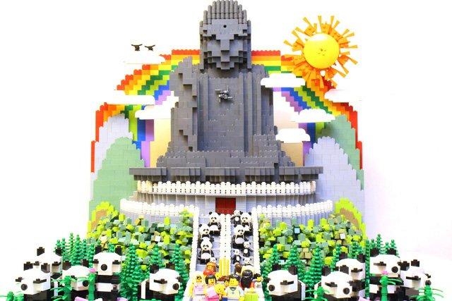 Ekologiczna wizja świata w kreacji z LEGO