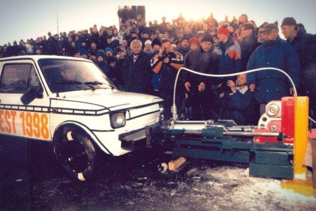 Wynalazek Lucjana Łągiewki miał zmienić oblicze transportu drogowego