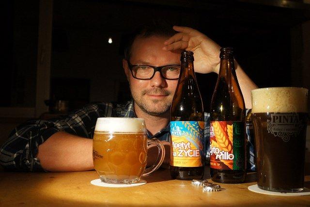 Ziemowit Fałat, amator, który wyprodukował 7 mln butelek piwa, przechodzi na zawodowstwo i zakłada własny browar.