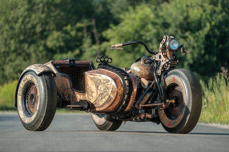 The Recidivist to pierwszy na świecie prawdziwie wytatuowany motocykl.