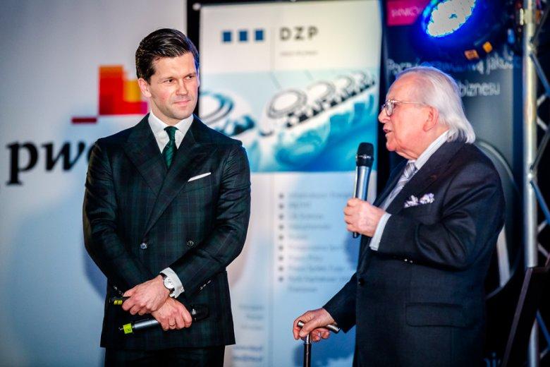 Karol Rzeszutko i Henryk Krupa podczas prelekcji na Kongresie Next Generation. www.nextg.pl