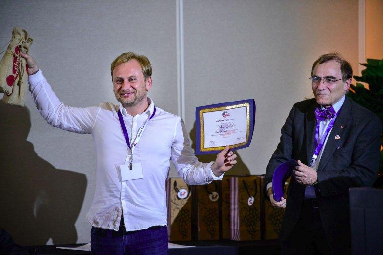 Michał Wroczyński, założyciel i CEO Fido Labs; Profesor Piotr Moncarz współzałożyciel i przewodniczący USPTC