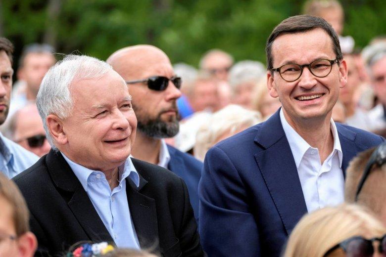 Mateusz Morawiecki chce, aby państwo polskie miało stalową wolę i goniło Europę Zachodnią.