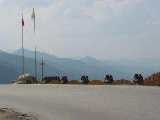 Punkt widokowy na zakopiańskiej Cyrhli, jeszcze przed postawieniem billboardu