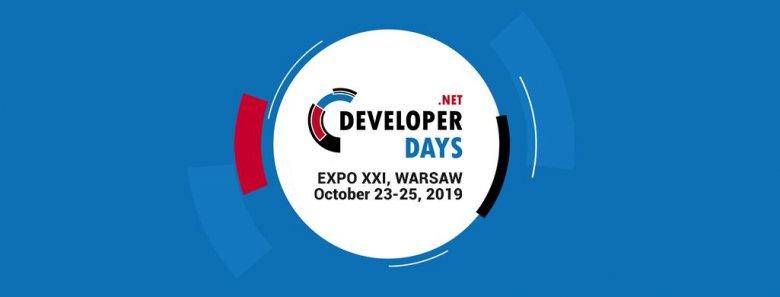 W dniach 23-25 października 2019 r. w Warszawie odbędzie się szósta edycja konferencji .NET DeveloperDays.