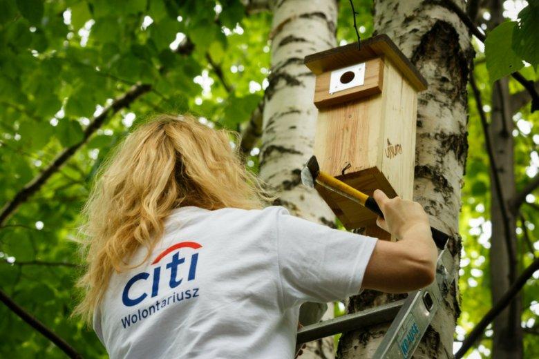 W projektach wolontariatu pracowniczego Citi bierze udział w sumie ponad 3200 osób.