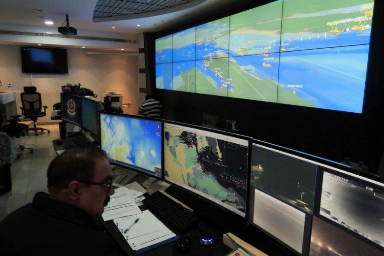 Centrum monitorowania wód terytorialnych w Bahrajnie.