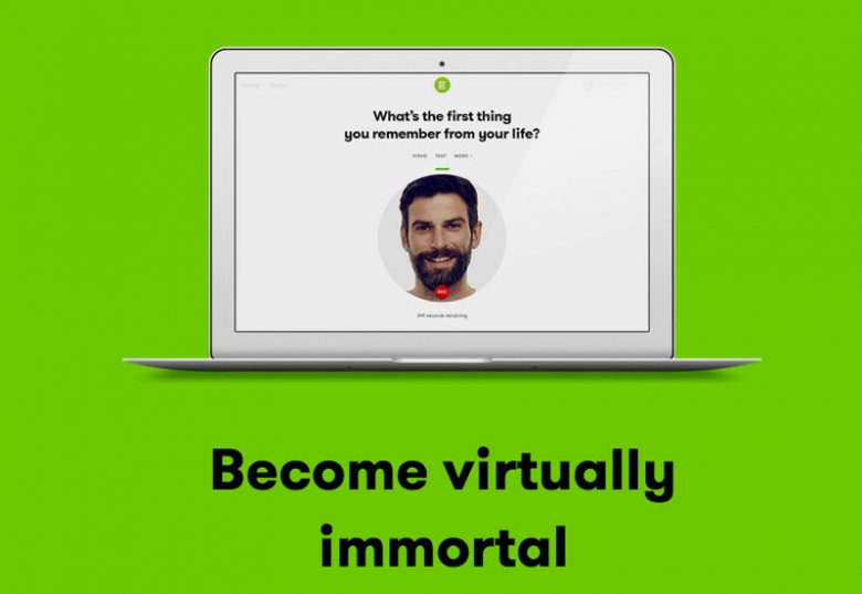 Eternime tworzy wirtualny awatar, z którym rozmawiać mogą bliscy.