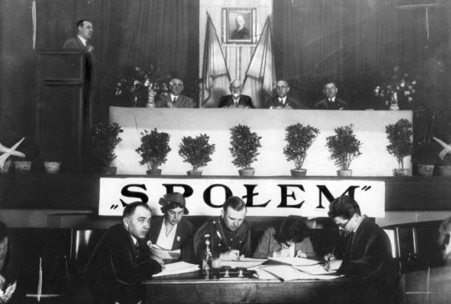 Zjazd spółdzielców Społem, 1933 r.