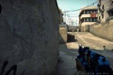 Zawodnik Counter Strike'a w trakcie rozgrywki