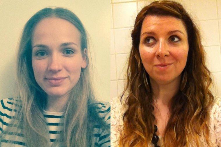 Odpowiedzialne za Girls Code Fun. Od lewej: Karolina Cikowska i Zuzanna Kobrzyński.