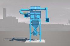 """""""Zjadacz Kurzu"""", maszyna-rzeźba, która będzie filtrować powietrze, stanie w Kielcach. Za jej stworzenie odpowiada Jakub Bąkowski"""