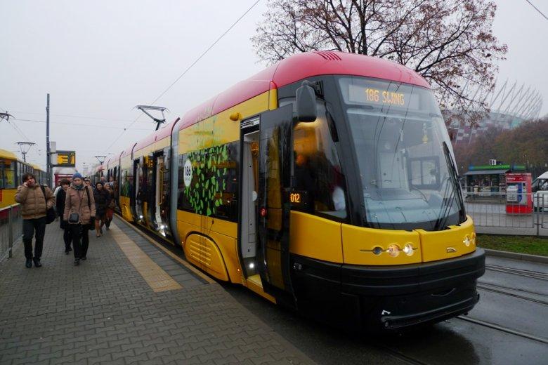 Dostawy tramwajów Swing do Warszawy zakończyły się w listopadzie 2013 r.