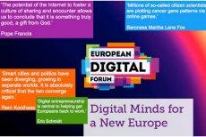 """Publikacja """"Digital Minds for a New Europe"""" jest już dostępna jako e-book i .pdf, za darmo w internecie. W niej m.in. Eric Schmidt z Google i Michał Boni"""
