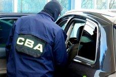 CBA zatrzymało jednego z kierowników w banku PKO BP.