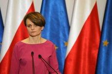 Minister Emilewicz już kilka razy tłumaczyła się z testu przedsiębiorcy