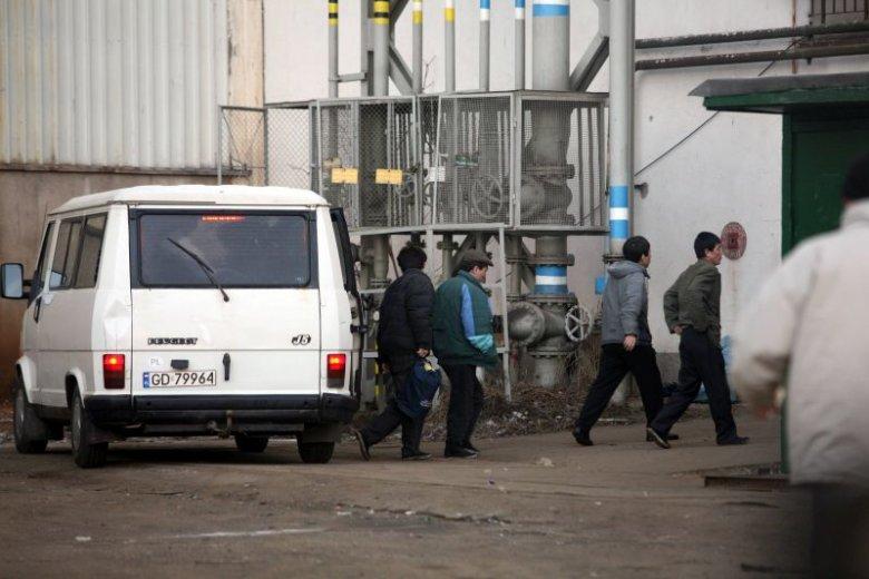 Pracownicy z Korei Północnej