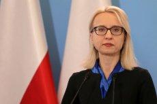 Informacje o dymisji Teresy Czerwińskiej pojawiają się ostatnio w mediach