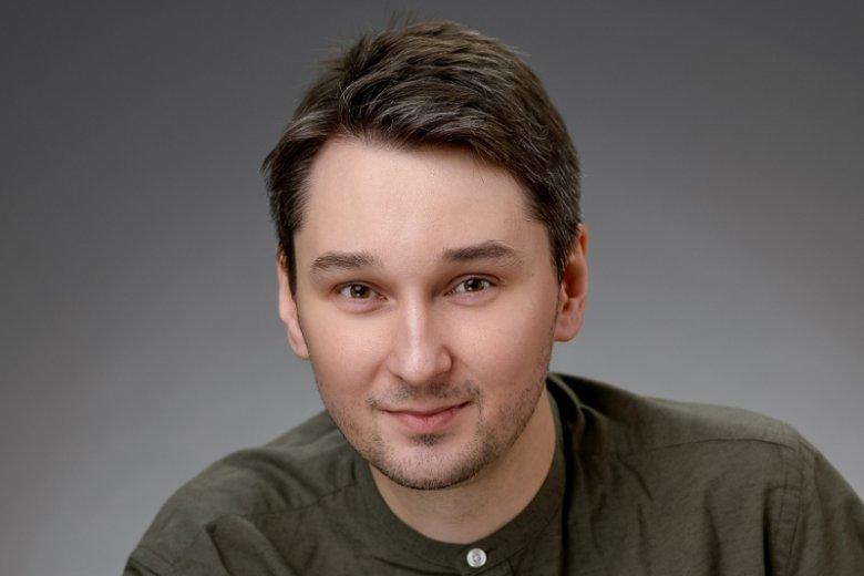 Adam Majewski, prezes i współzałożyciel start-upu Adquesto