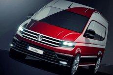 Wizualizacja nowe Volkswagen Craftera.