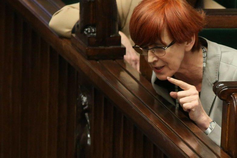 Minister rodziny i pracy Elżbiety Rafalskiej odczuwa satysfakcję, że z powodu 500 plus Polacy nie jeżdżą na zbieranie szparagów do Niemiec.