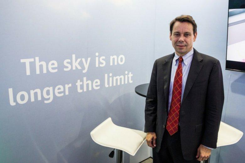 Wiceprezes firmy Amazon i dyrektor operacyjny w Europie Steven Harman