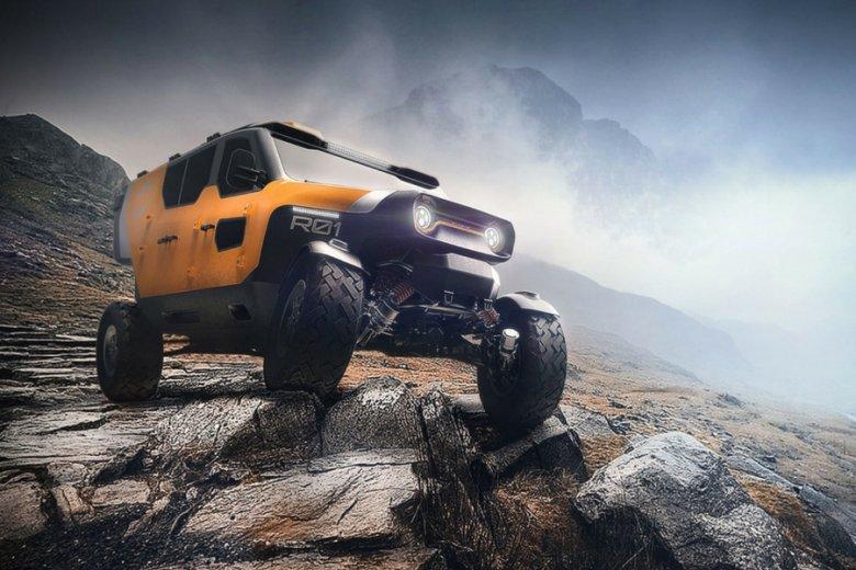Surgo Mountain Rescue Vehicle.