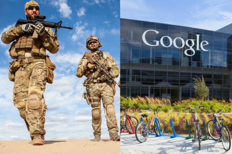 Google współpracuje z Pentagonem w ramach tzw. Projektu Maven.