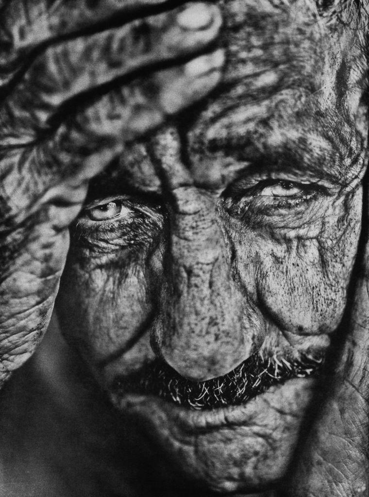 """Foto: Stéphane Noël, """"Juan"""", fotografia w technice gumy dwuchromianowej"""