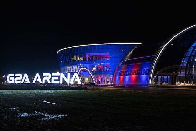 G2A Arena w Jasionce.