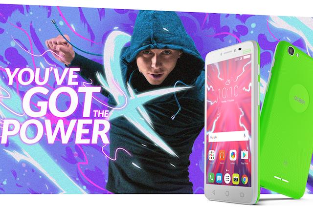 Nowe hasło jest bardzo adekwatne do pojemności baterii nowego produktu Alcatel.