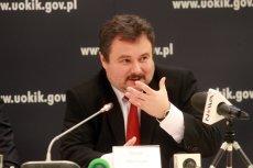Marek Niechciał, prezes UOKiK. Urząd dostał do ręki groźną broń: możliwość nałożenia kary na konkretnego menedżera przedsiębiorstwa.
