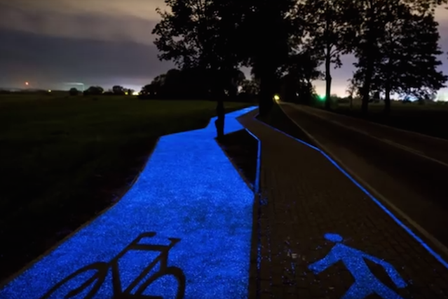 Ścieżka ma przede wszystkim zwiększyć bezpieczeństwo jazdy rowerzystów.