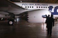 Pasażerowie linii Pekin-Warszawa mieli zostali poproszeni przez obsługę LOT-u, by dołożyli się do naprawy Dreamlinera