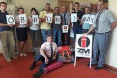 Odwołany prezes Leon Marciniec i wspierający go pracownicy