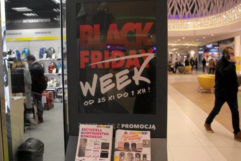 Część sklepów rozciągna okres promocji na cały tydzień.