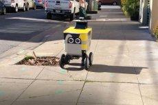 Na ulicach San Francisco rozpoczęto testy robotów do dostarczania paczek.