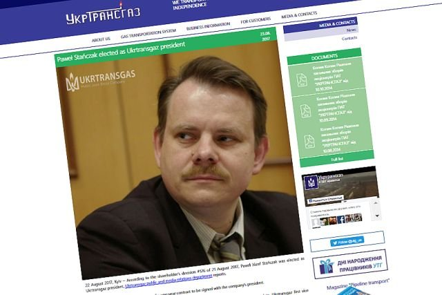Paweł Stańczak nie będzie szefem Ukrtransgazu