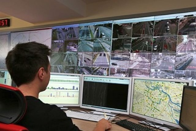 Stanowisko obsługi systemu transportu miejskiego w Astanie