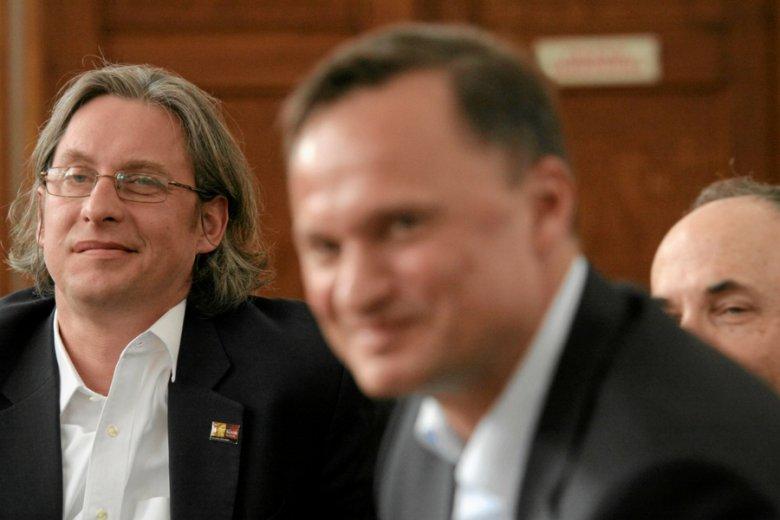 Wojciech Sobieraj, cyfrowy buntownik branży bankowej , i Leszek Czarnecki, twórca Getin Banku.