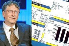 Bill Gates i jego dziecko - Microsoft Windows.