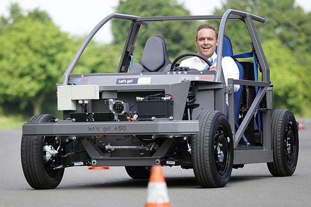 Niemiecki start-up w 1,5 roku zbudował jeżdżący prototyp elektrycznego auta miejskiego e.Go. Dziś można kupić już w pełni funkcjonalną wersję