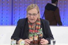Europosłanka Róża Thun wyjaśnia różnice w podwójnej jakości produktów.