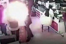 Eksplozja baterii iPhone'a nastąpiła ułamek sekundy po tym, jak mężczyzna odsunął ją od twarzy po wcześniejszym ugryzieniu
